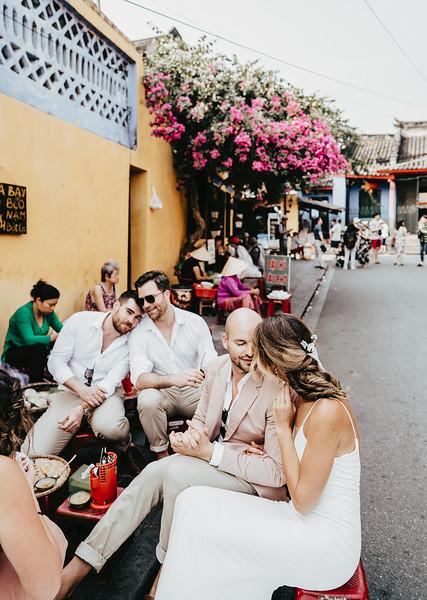 Hoi An Wedding - Intimate Wedding of Angela & Joey captured by Vietnam Destination Wedding Photographers Hipster Wedding-8412