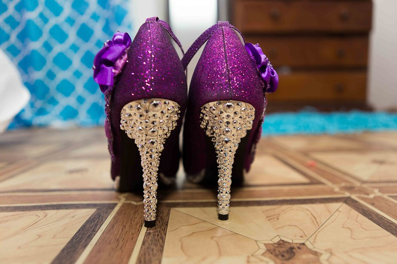 Special heels, for a special day.