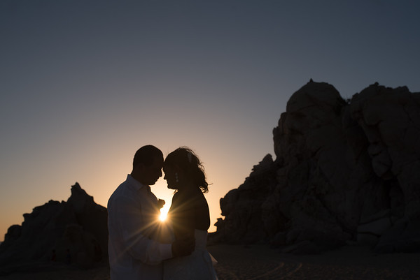 Wedding at the pedregal