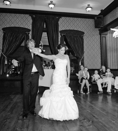 Aliyah and Scott's wedding at the Adelman building in downtown Boise. By Boise Wedding Photographer, Mike Reid.