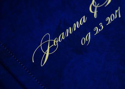 Custom overprint on the cover.