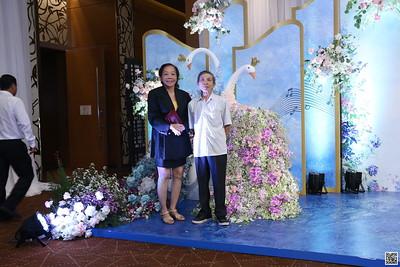 Nghia x Hanh wedding instant print photo booth @ InterContinental Hotel Saigon | Chụp hình in ảnh lấy liền Tiệc cưới tại TP Hồ Chí Minh | WefieBox Photo Booth Vietnam