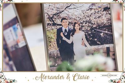 © Wedding of Alexander & Clarie | SRSLYPhotobooth.sg