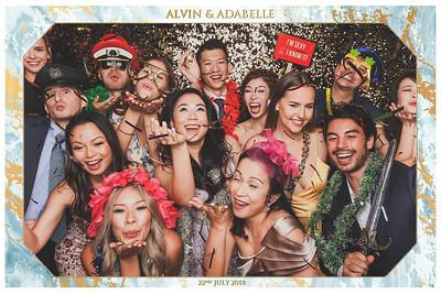 © Wedding of Alvin & Adabelle | SRSLYPhotobooth.sg