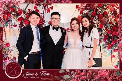 Wedding of Alvin & Tessa   © www.SRSLYPhotobooth.sg
