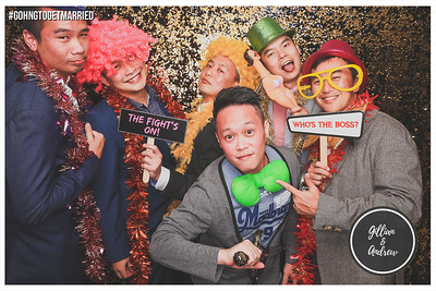 Wedding of Andrew & Gillian | © www.SRSLYPhotobooth.sg