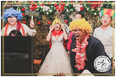 Wedding of Andy & Camellia | © www.SRSLYPhotobooth.sg