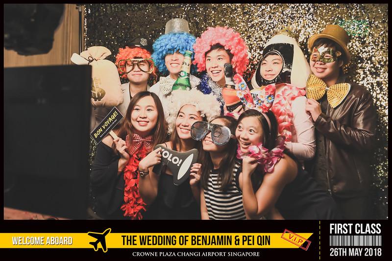 Wedding of Benjamin & Pei Qin | © www.SRSLYPhotobooth.sg