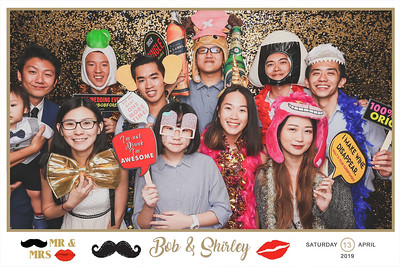 Wedding of Bob & Shirley | © SRSLYPhotobooth.sg