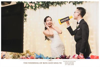#BonToSing | © www.SRSLYPhotobooth.sg