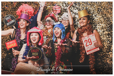 Wedding of Boonfei & Charmaine | © www.SRSLYPhotobooth.sg