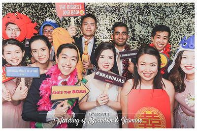 Wedding of Brandon & Jasmine | © www.SRSLYPhotobooth.sg
