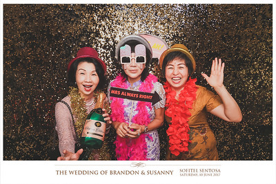 Wedding of Brandon & Susanny | © www.SRSLYPhotobooth.sg