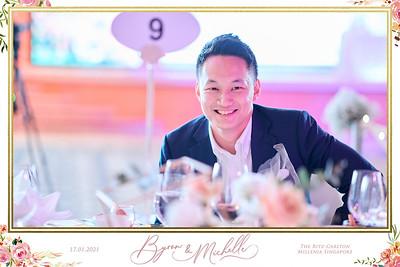 © Wedding of Byron & Michelle | SRSLYPhotobooth.sg