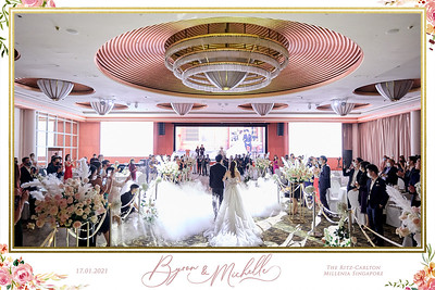 © Wedding of Byron & Michelle | SRSLYPhotobooth.sg