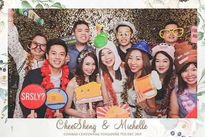 Wedding of CS & Michelle | © www.SRSLYPhotobooth.sg
