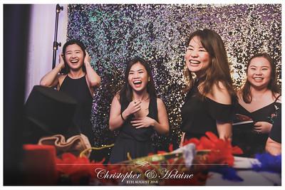 Wedding o Christopher & Helaine | © www.SRSLYPhotobooth.sg