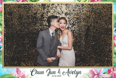 Wedding of Chun Jun & Avelyn | © www.SRSLYPhotobooth.sg