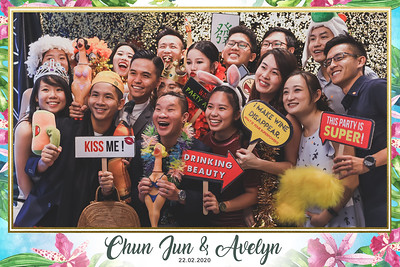 Wedding of Chun Jun & Avelyn | © www.SRSLYPhotobooth.sg