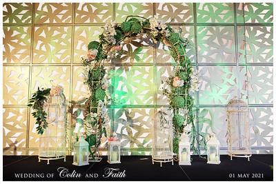 © Wedding of Colin & Faith | SRSLYPhotobooth.sg