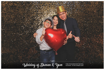 Wedding of Damien & Yam | © www.SRSLYPhotobooth.sg