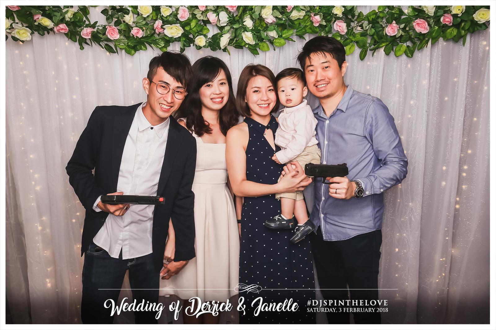 Wedding of Derrick & Janelle   © SRSLYPhotobooth.sg