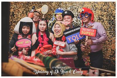 Wedding of Di Han & Cindy | © www.SRSLYPhotobooth.sg