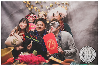 Wedding of Shayne & Edmond | © www.SRSLYPhotobooth.sg