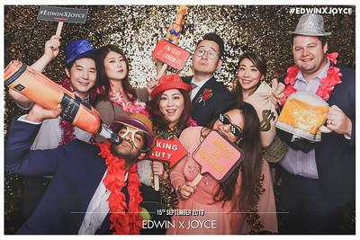 Wedding of Edwin & Joyce | © www.SRSLYPhotobooth.sg