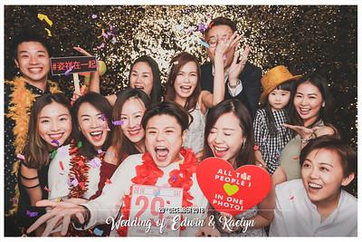 Wedding of Edwin & Kaelyn | © www.SRSLYPhotobooth.sg