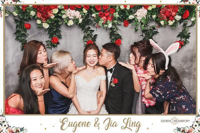 Wedding of Eugene & Jia Ling | © www.SRSLYPhotobooth.sg