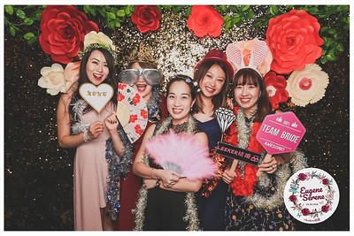 Wedding of Eugene & Serene | © www.SRSLYPhotobooth.sg