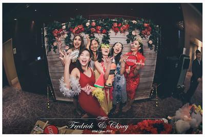 Wedding of Fedrick & Chney | © www.SRSLYPhotobooth.sg