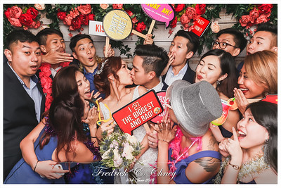 Wedding of Fedrick & Chney | © www.SRSLYPhotobooth.sg