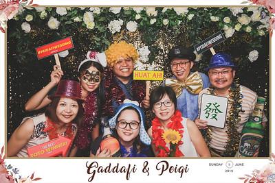 Wedding of Gaddafi & Peiqi | © www.SRSLYPhotobooth.sg