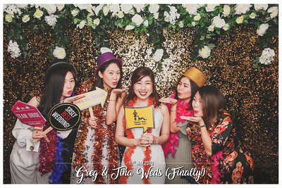 Wedding of Gregory & Christina | © www.SRSLYPhotobooth.sg