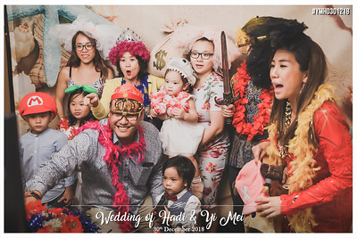 Wedding of Hadi & Yi Mei | © www.SRSLYPhotobooth.sg