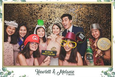 Wedding of Hewlett & Melanie | © www.SRSLYPhotobooth.sg