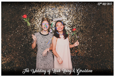 Wedding of Hiok Hong & Geraldine | © www.SRSLYPhotobooth.sg