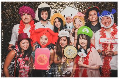 Wedding of Ivan & Lia | © www.SRSLYPhotobooth.sg