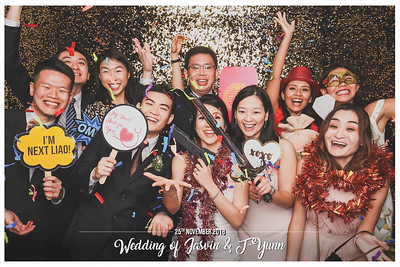 Wedding of Jasvin & T-Yunn | © www.SRSLYPhotobooth.sg