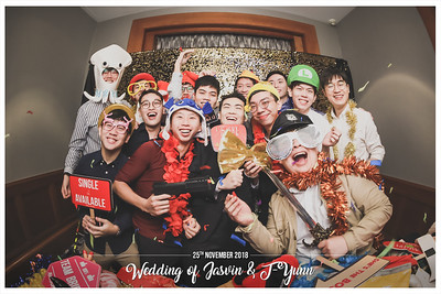 Wedding of Jasvin & T-Yunn | © www.SRSLYPhotobooth.sg
