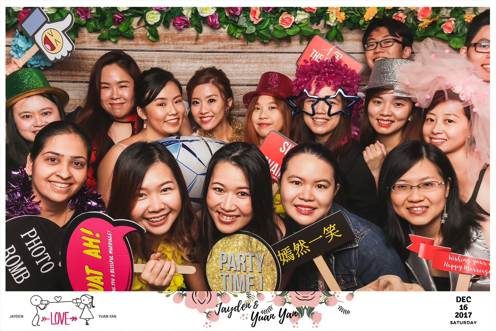 Wedding of Jayden & Yuan Yan | © www.SRSLYPhotobooth.sg