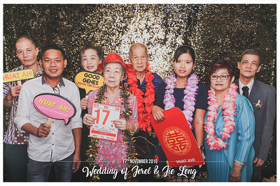 Wedding of Jerel & Jie Leng | © www.SRSLYPhotobooth.sg
