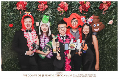 Wedding of Jeremy & Choon Min | © www.SRSLYPhotobooth.sg