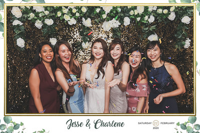 Wedding of Jesse & Charlene | © www.SRSLYPhotobooth.sg