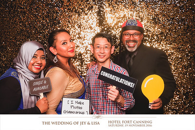 © Wedding of Jey & Lisa | © SRSLYPhotobooth.sg