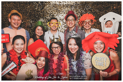 Wedding of Jia Jie & Sylvia | © www.SRSLYPhotobooth.sg
