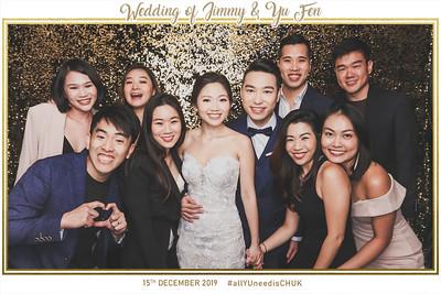 Wedding of Jimmy & Yu Fen | © www.SRSLYPhotobooth.sg