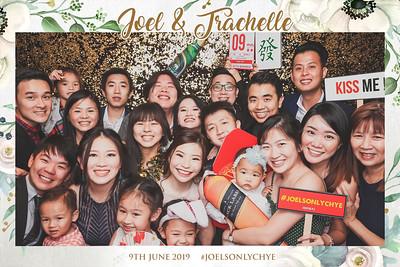 Wedding of Joel & Trachelle | © www.SRSLYPhotobooth.sg
